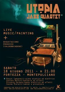 Utopia Jazz Quartet live in Montepulciano