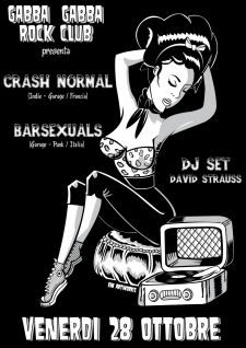 CRASH NORMAL + BARSEXUALS @ GABBA GABBA