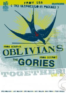 OBLIVIANS/THE GORIES