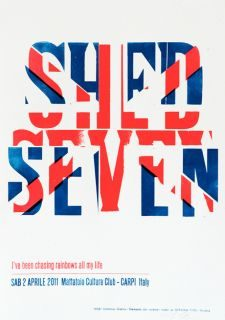 SHED SEVEN @ Mattatoio Culture Club