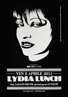 LYDIA LUNCH @ Mr.Muzik OFF