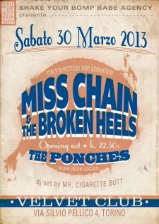 Miss Chain & The Broken Heels - The Ponches