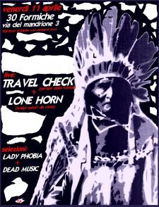 Travel Check + Lone Horn live