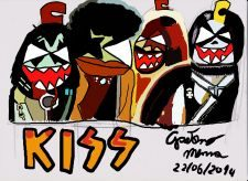 I Kiss in versione bomboletta spray