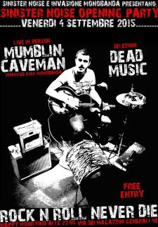 Mumblin Caveman One Man Band