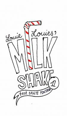 The Louie Louies Milkshake Logo