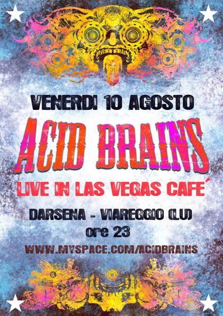 Acid Brains in Las Vegas Cafè