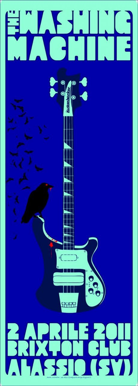 My black crow loves your Rickenbacker