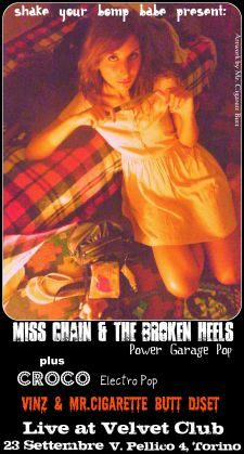 MISS CHAIN AND THE BROKEN HEELS + CROCO