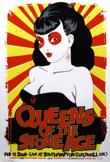 QUEENS OF THE STONE AGE, UK - 2008