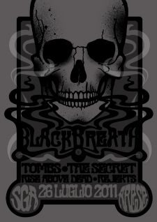Black Breath Italian Tour