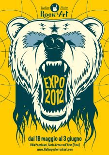 ITALIAN POSTER ROCK ART EXPO\' 2012