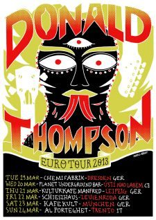 Donald Thompson Euro Tour 2013