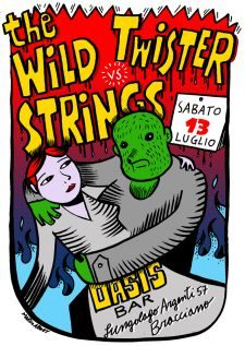 the wild strings vs twister