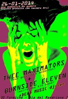 Thee Maximators + Burnside Eleven