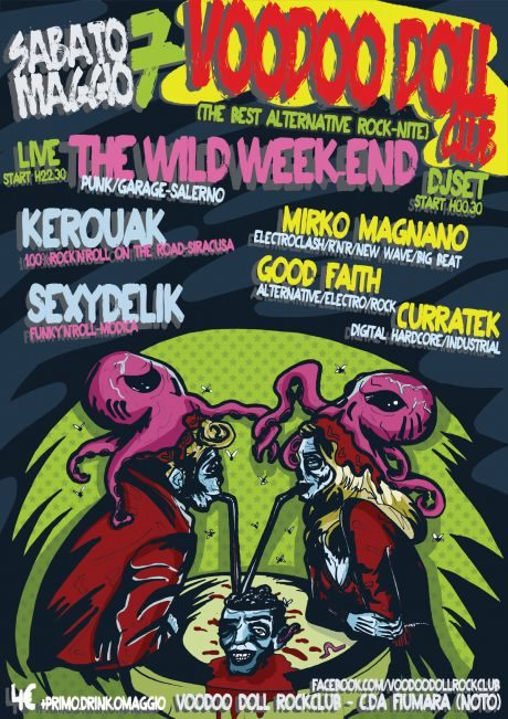 THE WILD WEEK-END/KEROUAK/SEXYDELIK